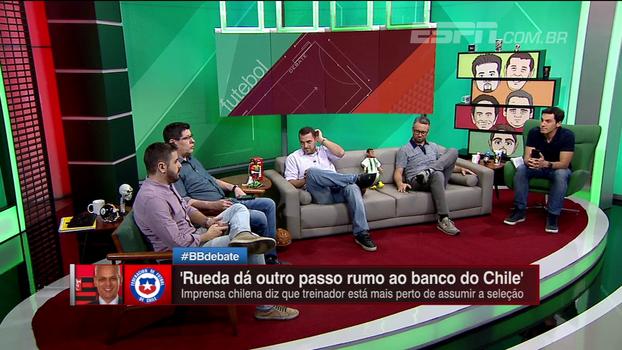 BB Debate analisa chances de Rueda trocar Flamengo por seleção do Chile
