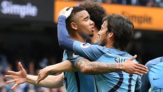 Assista aos melhores momentos da vitória do Man. City sobre o Leicester por 2 a 1