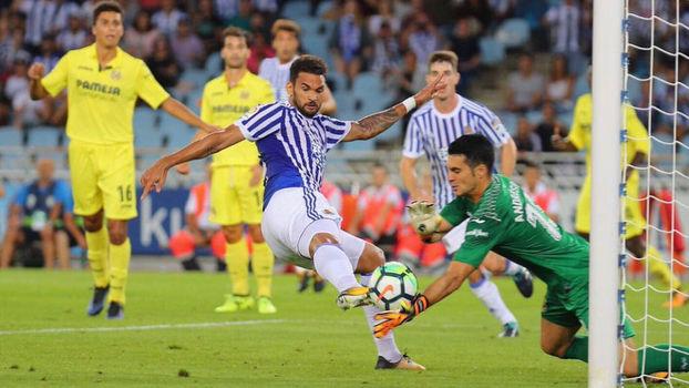 Assista aos gols da vitória do Real Sociedad sobre o Villarreal por 3 a 0!