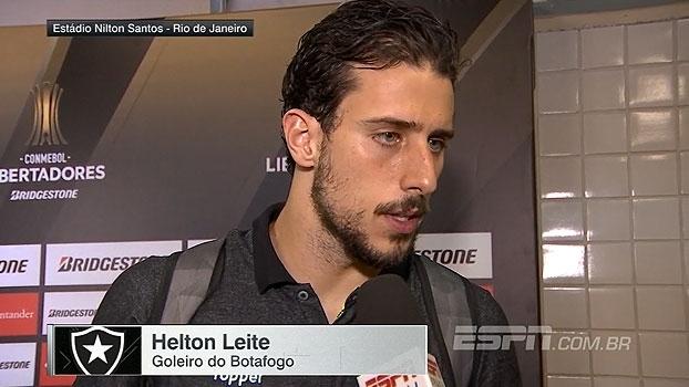 Substituto de Gatito, Helton Leite alerta para 'pedreira' em jogo de volta