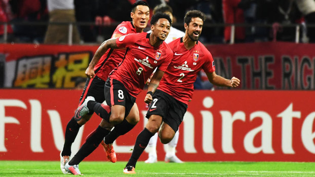 Champions League Asiática: Gol de Urawa Red Diamonds 1 x 0 Shanghai SIPG