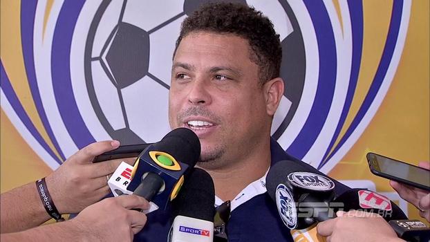Ronaldo fala sobre grupo do Brasil na Copa e Andrés no Corinthians