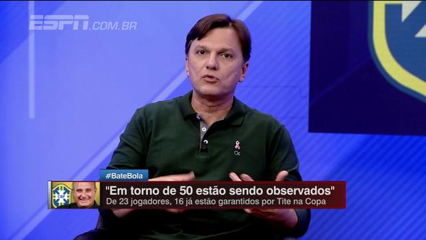 Mauro analisa situação da eliminatória sul-americana e diz: 'Situação da Argentina não é tão dramática assim'