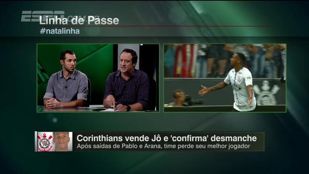 Gian: 'Seria uma irresponsabilidade do Corinthians não aceitar a proposta pelo Jô'