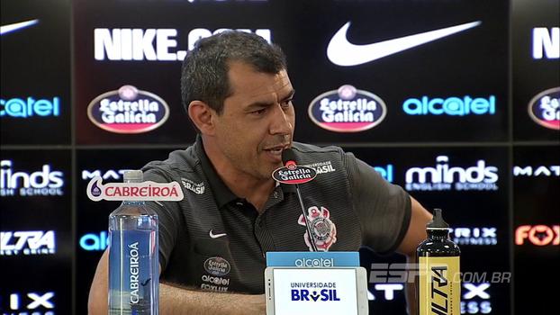 Carille brinca e lembra que mãe o aconselhou a não ser treinador do Corinthians: 'Ainda bem que nunca a escutei'
