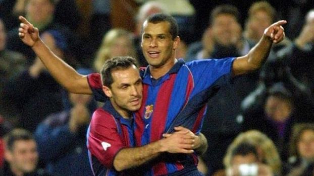 Barcelona x Sevilla de 2002 teve show de Rivaldo; veja como foi