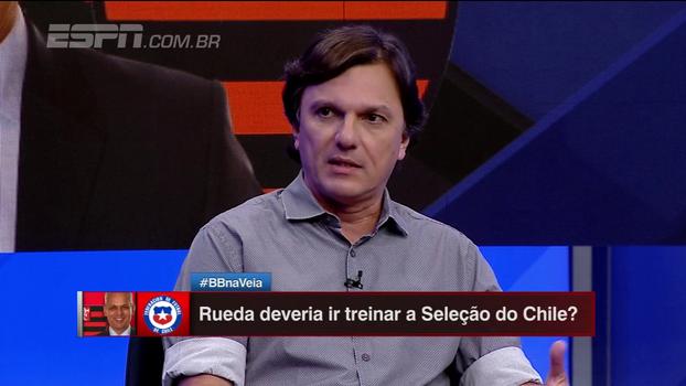 Mauro Cezar traz notícias sobre Rueda e Federação do Chile: contatos começaram há um mês, segundo repórter chileno