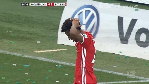 Tempo real: QUE PERIGO! Bayern cobra falta rápido e Coman quase anota o quarto gol