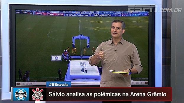 Sálvio Spinola analisa pênalti marcado para o Grêmio diante do Corinthians