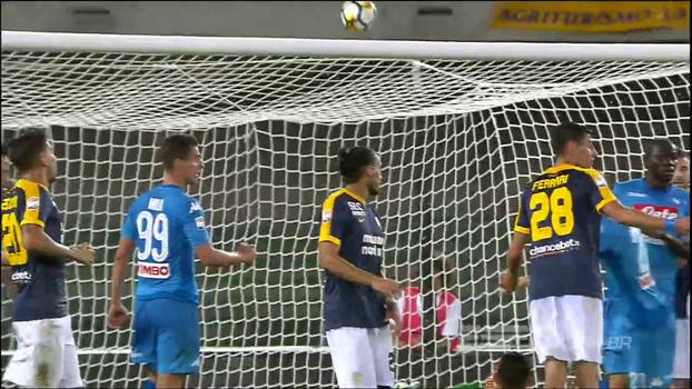 Assista aos melhores momentos da vitória do Napoli sobre o Hellas Verona por 3 a 1!