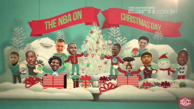 Para colocar na agenda! Já em clima de festas, veja os jogaços da rodada especial de natal da NBA