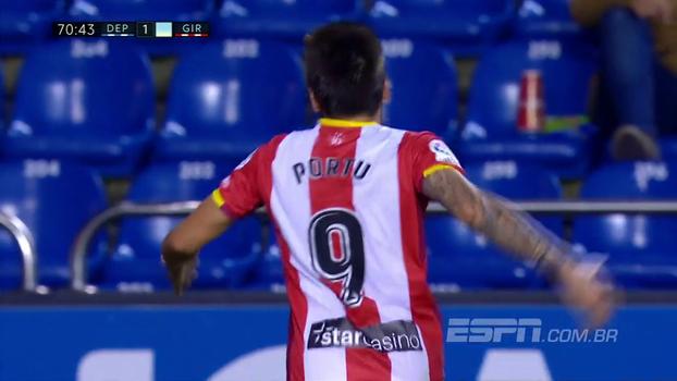 Girona vence La Coruña fora de casa e abre 3 pontos da zona de rebaixamento