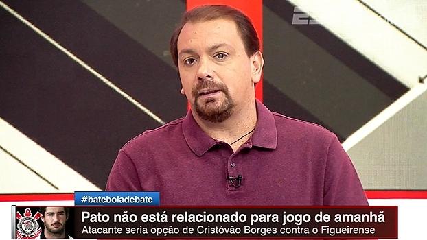 Alê Oliveira sobre Pato não ser relacionado: 'História toda foi muito mal conduzida'