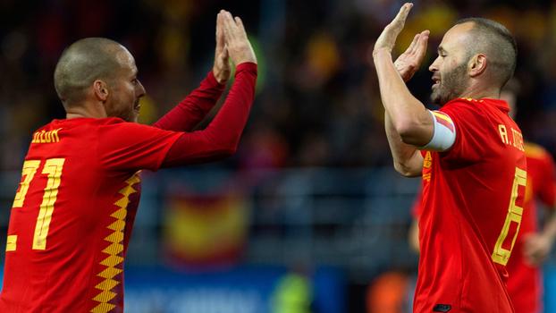 Assista aos melhores momentos da vitória da Espanha sobre a Costa Rica por 5 a 0!