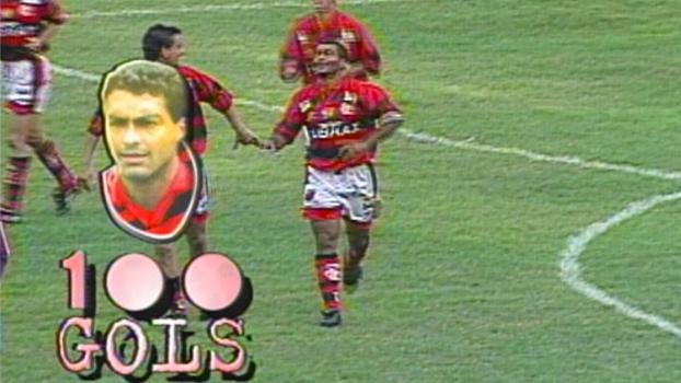 Fla x Madureira de 97 teve gol 100 de Romário, pintura de Sávio e pancadaria; reveja
