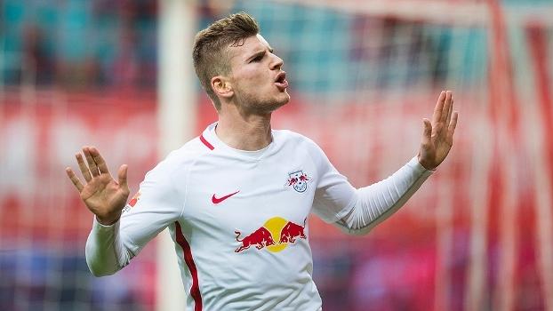 Assista aos gols da vitória do Leipzig sobre o Colônia por 3 a 1