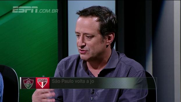 Para Gian, Dorival poderia ter começado com Jucilei para tentar somar um ponto no Maracanã