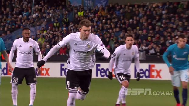 Assista aos gols do empate entre Rosenborg e Zenit em 1 a 1!