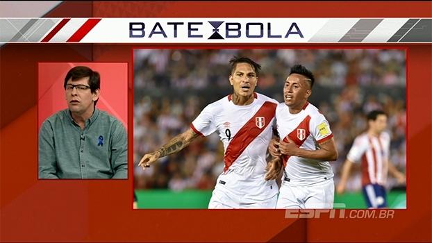 Cueva ou Guerrero? Para Unzelte, meia do São Paulo causa mais preocupação para seleção brasileira