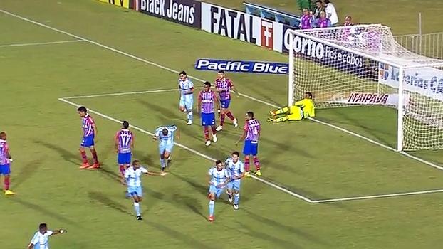 Série B: Gol de Londrina 1 x 0 Bahia