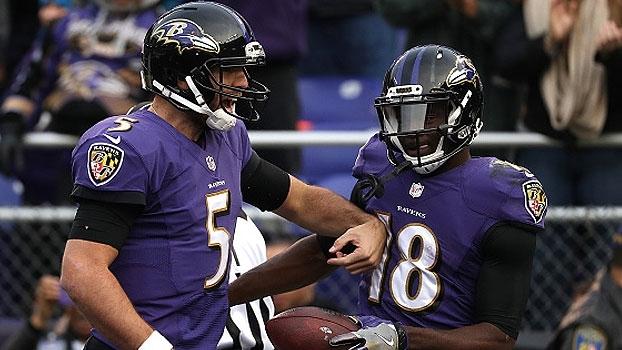 Assista aos lances da vitória dos Ravens sobre os Dolphins por 38 a 6!