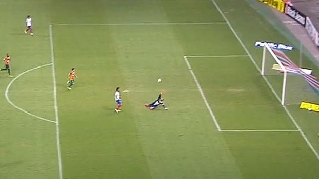 Série B: Gol de Bahia 1 x 0 Sampaio Corrêa