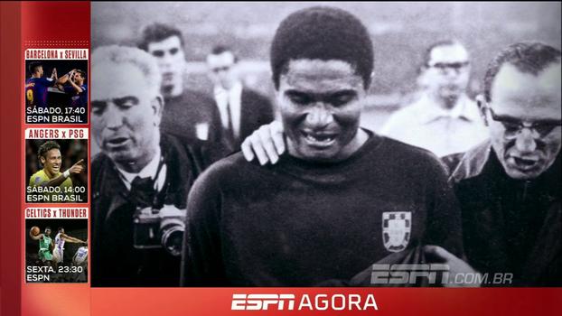 Estrelas dos Mundiais: relembre os feitos de Eusébio, algoz da seleção brasileira bicampeã