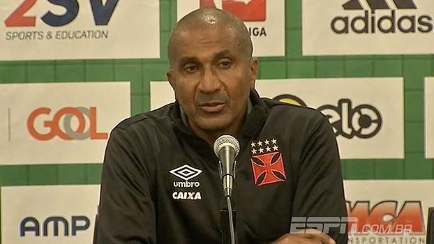 Cristóvão descarta cansaço e elogia qualidade do Corinthians: 'Foram superiores'