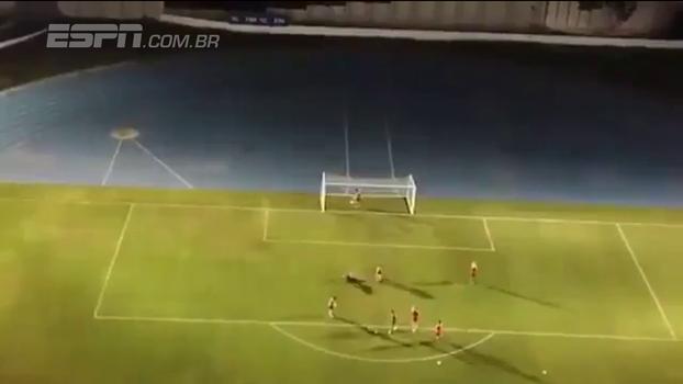 Veja como torcida do Fla transmitiu treino do Independiente ao vivo com uso de um drone