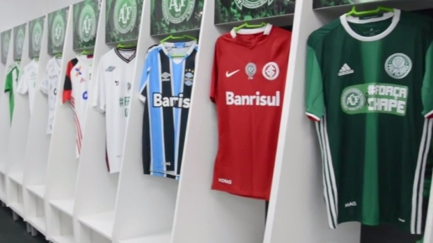 Chapecoense posta vídeo agradecendo homenagens de outros clubes na última rodada do Brasileiro
