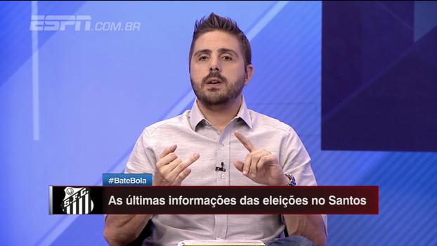 Nicola revela bastidores assustadores das eleições do Santos: 'Baixo nível'