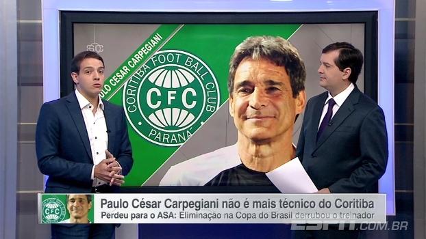 Rafael Oliveira diz que não imaginava demissão de Carpegiani e analisa início de ano do Coritiba