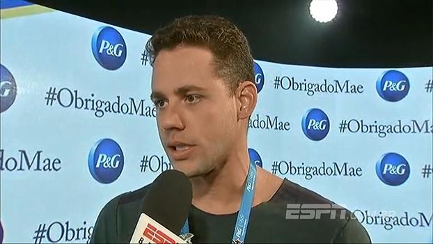 Thiago Pereira comenta polêmica com nadadores americanos: 'Medalhas e recordes passam, o exemplo fica'