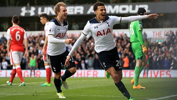 Premier League: Gols de Tottenham 2 x 0 Arsenal