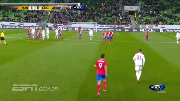 Em Budapeste, Hungria vence amistoso contra a Costa Rica