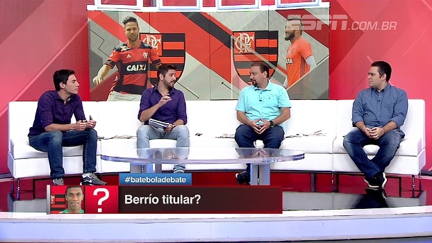Léo Bertozzi e Alê Oliveira analisam atuação de Berrío e concordam: foi 'monstro'
