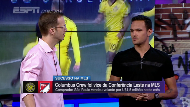 Ex-volante do São Paulo fala sobe temporada em surpresa da MLS