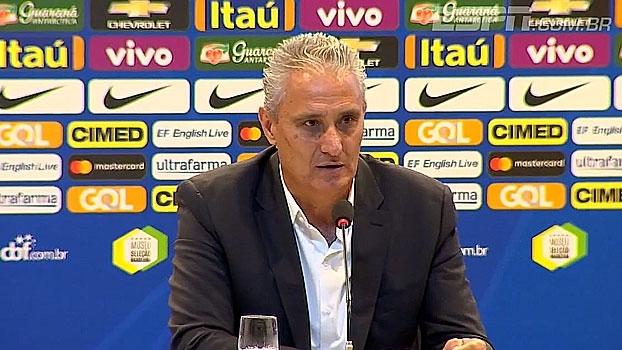 Tite fala sobre grandeza de amistoso contra Colômbia em prol da Chapecoense: 'Muito mais do que vencer ou perder'