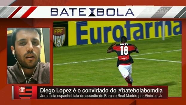 Valor pedido pelo Flamengo já fez clube europeu desistir de Vinicius Jr., diz jornalista espanhol