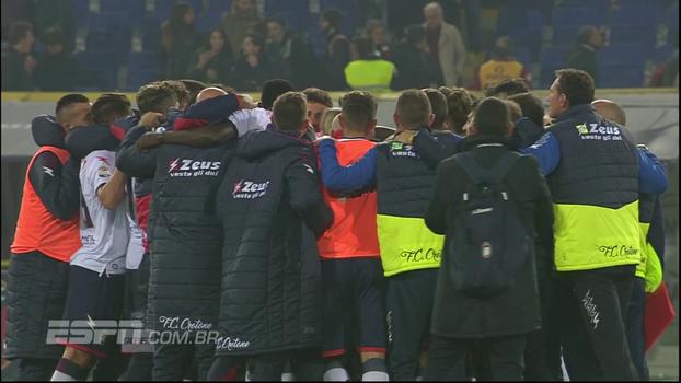 Bologna leva virada em casa, tem sequência de 4 derrotas seguidas e cai para 12º