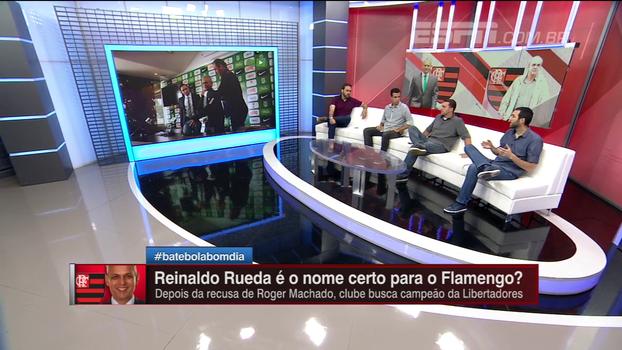 Hofman diz que Rueda seria a melhor opção para o Fla e sugere comissão técnica brasileira para facilitar