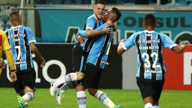 Brasileiro: Gols de Grêmio 2 x 0 Botafogo