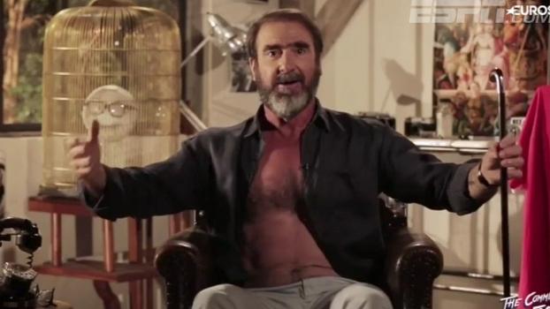 Ídolo Cantona se rende e faz versão para hit irlandês na Eurocopa