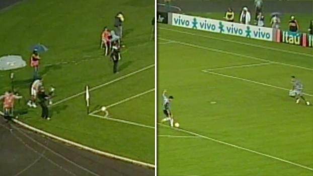 Em 2006: Grêmio abriu 2 a 0, golaços de Pet e Marcelo viraram para o Flu, mas jogo maluco acabou 4 a 4