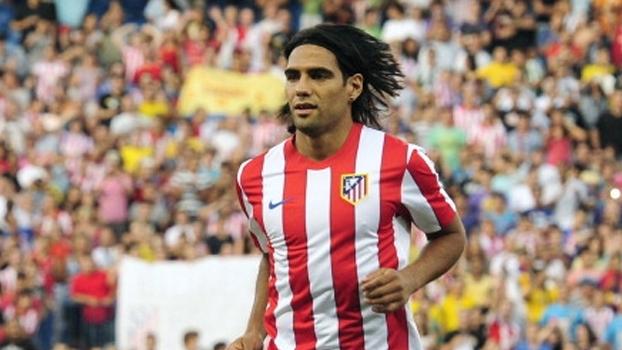 Em 2011, Falcão Garcia em grande fase comandou Atlético de Madri na vitória sobre o Rayo Vallecano