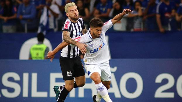 Brasileiro: Gols de Cruzeiro 1 x 1 Santos