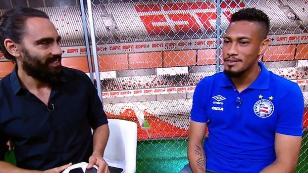 Hernane relembra visita ao Maracanã e fala em sonho realizado por ter jogado no Fla