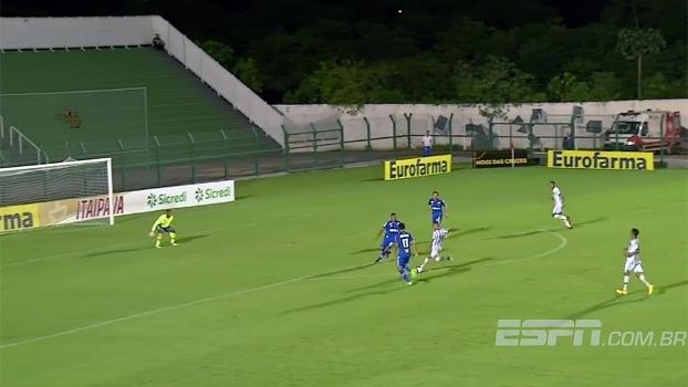 Copa São Paulo: Gol de Bragantino 1 x 0 Cruzeiro