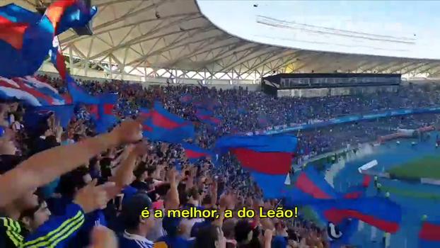La U é derrotada na final da Copa do Chile, mas torcida avisa: 'Te apoiarei mesmo quando estiver perdendo!'