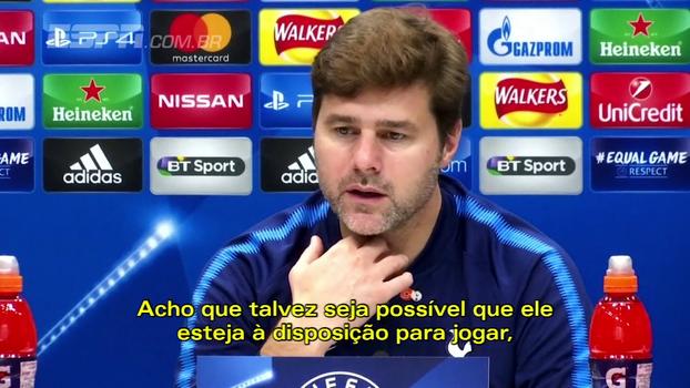Pochettino mostra otimismo com presença de Kane contra o Real; Marcelo alerta sobre outros jogadores do Tottenham